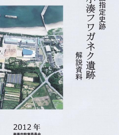 小湊フワガネク遺跡2012