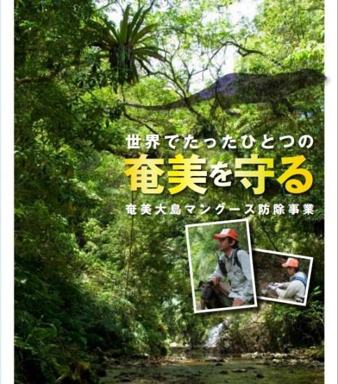 「世界でたったひとつの奄美を守る 奄美大島マングース防除事業」