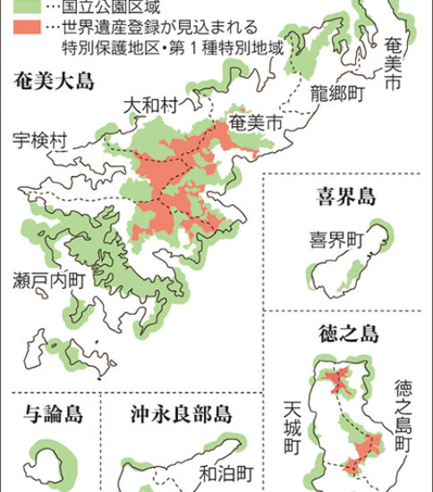 奄美群島国立公園(仮称)計画へのパブリックコメント開始!